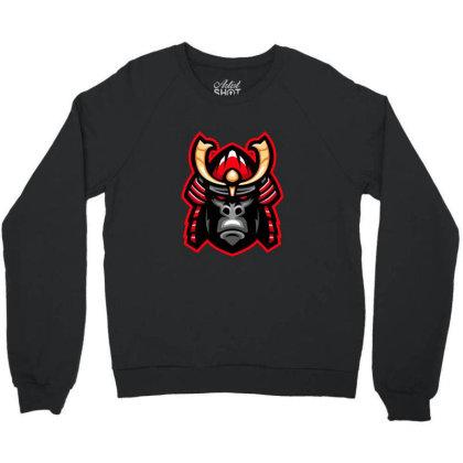 Gorilla Crewneck Sweatshirt Designed By Estore