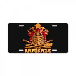 Samurai License Plate | Artistshot
