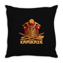 Samurai Throw Pillow | Artistshot