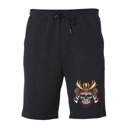 Skull Fleece Short Designed By Estore