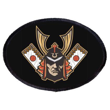 Samurai Oval Patch Designed By Estore