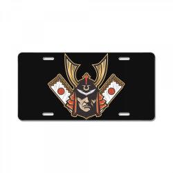 Samurai License Plate   Artistshot