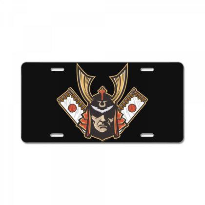 Samurai License Plate Designed By Estore