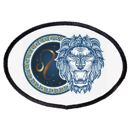 Horoscope Leo Oval Patch Designed By Estore
