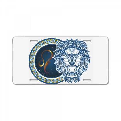 Horoscope Leo License Plate Designed By Estore
