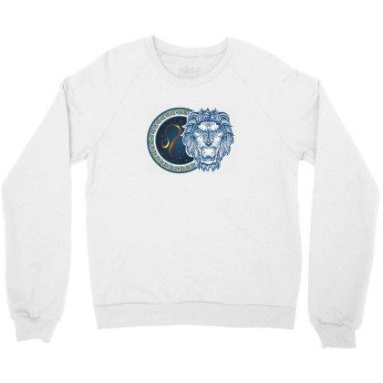 Horoscope Leo Crewneck Sweatshirt Designed By Estore