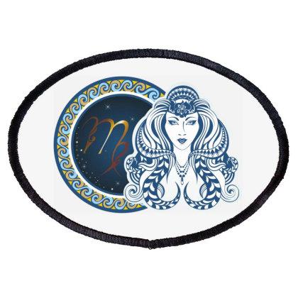 Horoscope Virgo Oval Patch Designed By Estore