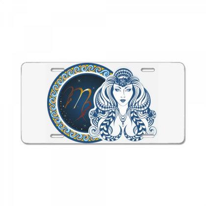 Horoscope Virgo License Plate Designed By Estore