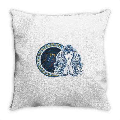Horoscope Virgo Throw Pillow Designed By Estore