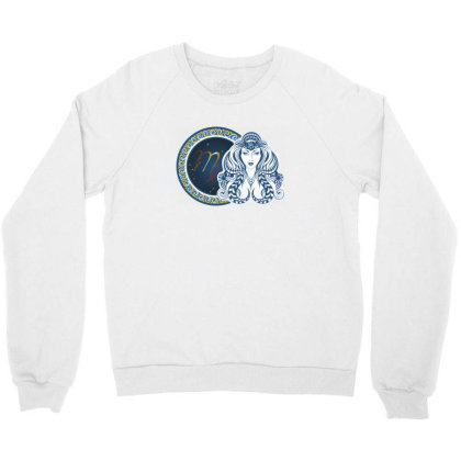 Horoscope Virgo Crewneck Sweatshirt Designed By Estore