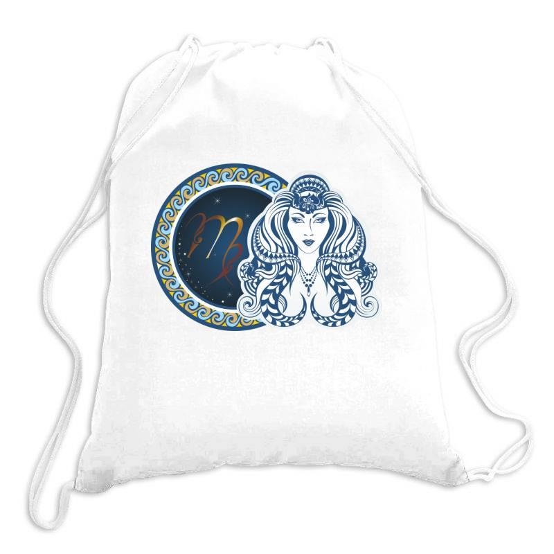 Horoscope Virgo Drawstring Bags | Artistshot