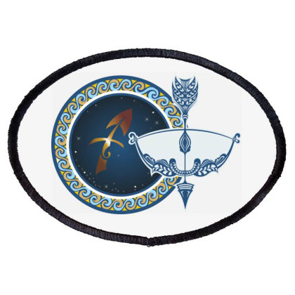 Horoscope Sagittarius Oval Patch Designed By Estore