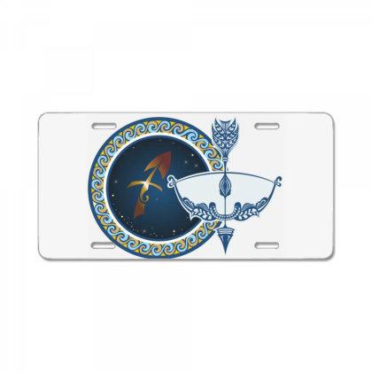 Horoscope Sagittarius License Plate Designed By Estore