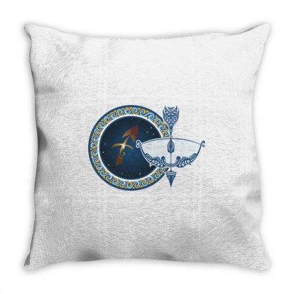 Horoscope Sagittarius Throw Pillow Designed By Estore