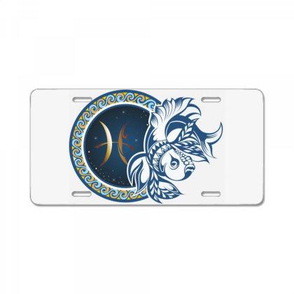 Horoscope Pisces License Plate Designed By Estore