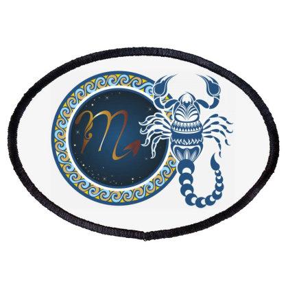 Horoscope Scorpio Oval Patch Designed By Estore