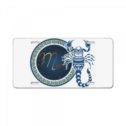 Horoscope Scorpio License Plate Designed By Estore