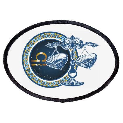 Horoscope Libra Oval Patch Designed By Estore