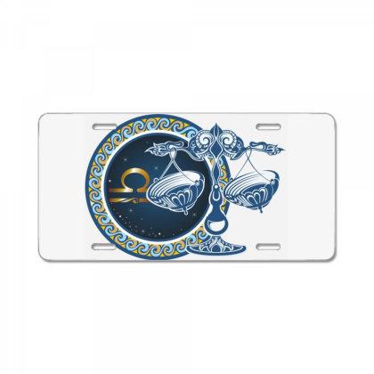 Horoscope Libra License Plate Designed By Estore