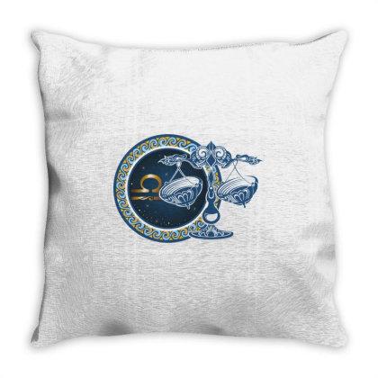 Horoscope Libra Throw Pillow Designed By Estore