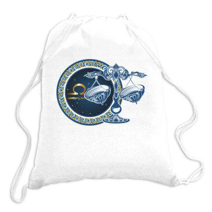Horoscope Libra Drawstring Bags Designed By Estore