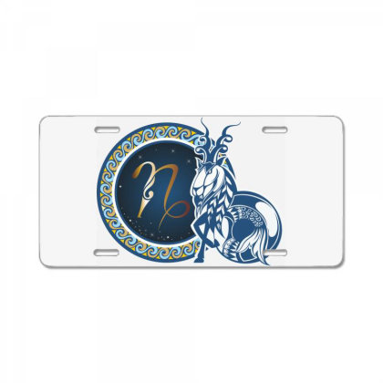 Horoscope Capricorn License Plate Designed By Estore
