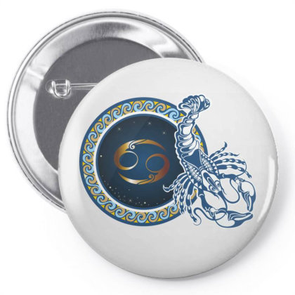 Horoscope Cancer Pin-back Button Designed By Estore