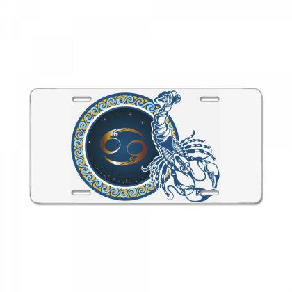 Horoscope Cancer License Plate Designed By Estore