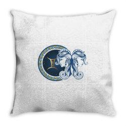 Horoscope gemini Throw Pillow | Artistshot