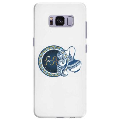 Horoscope Aquarius Samsung Galaxy S8 Plus Case Designed By Estore