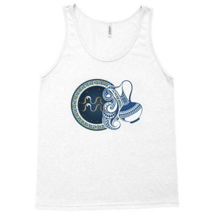 Horoscope Aquarius Tank Top Designed By Estore