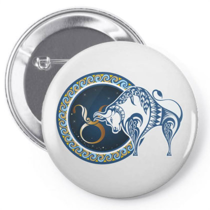 Horoscope Taurus Pin-back Button Designed By Estore