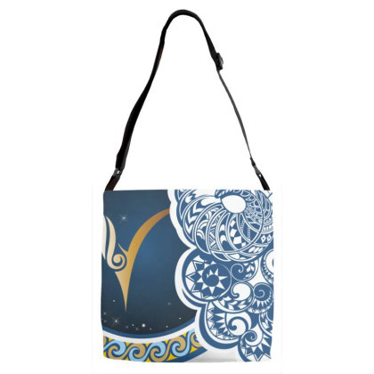 Horoscope Aries Adjustable Strap Totes Designed By Estore