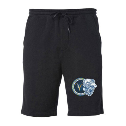 Horoscope Aries Fleece Short Designed By Estore