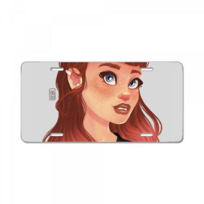 Punk Girl License Plate Designed By Adesignerlife