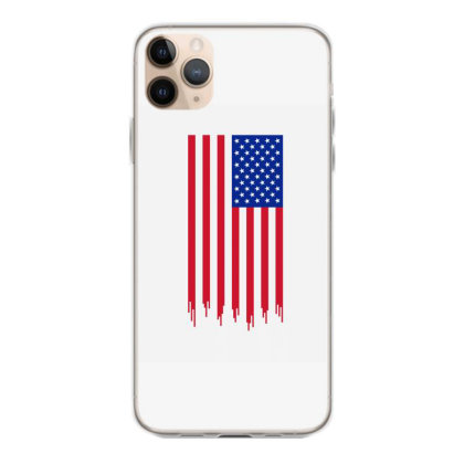 American Flag And The Blood Of Freedom Iphone 11 Pro Max Case Designed By Alamy