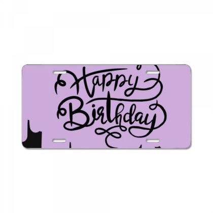 Glad You Born. License Plate Designed By Warda07