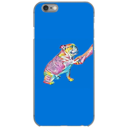 A Young Nine Month Old Englis A White Backgro Iphone 6/6s Case Designed By Kemnabi