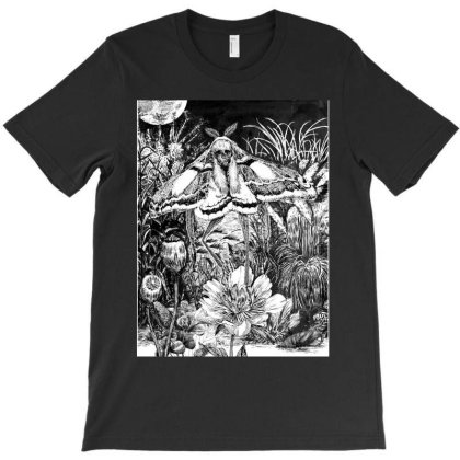 Death Moth T-shirt Designed By The Real Kurosan