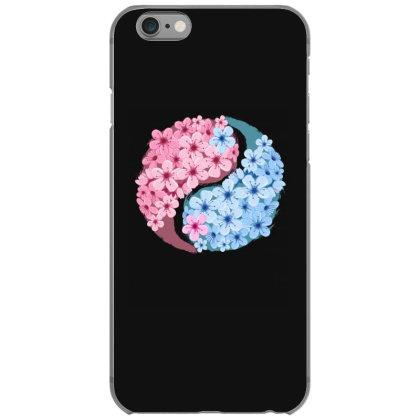 Cherry Blossom Love Yin Yang Iphone 6/6s Case Designed By Badaudesign