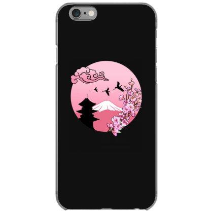 Sakura Cherry Blosseom Pink Iphone 6/6s Case Designed By Badaudesign