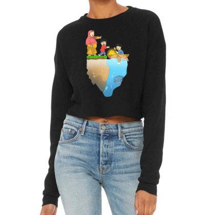 Dad Struggle Cropped Sweater Designed By Komikayat