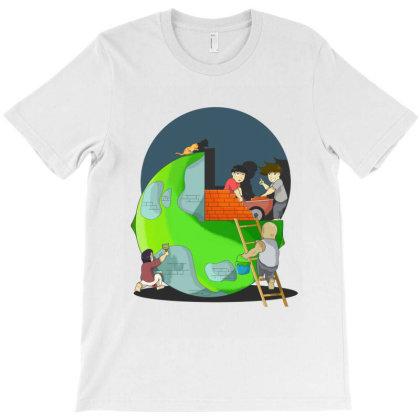 A Change World T-shirt Designed By Komikayat