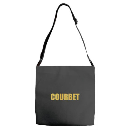Courbet, Inspiration Shirt, Gustave Courbet, Courbet Shirt... Adjustable Strap Totes Designed By Word Power