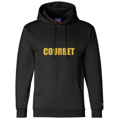 Courbet, Inspiration Shirt, Gustave Courbet, Courbet Shirt... Champion Hoodie Designed By Word Power