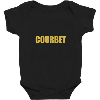 Courbet, Inspiration Shirt, Gustave Courbet, Courbet Shirt... Baby Bodysuit Designed By Word Power
