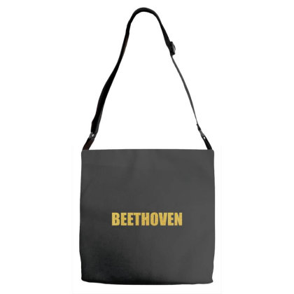 Beethoven, Inspiration Shirt, Beethoven Shirt, Beethoven T Shirt... Adjustable Strap Totes Designed By Word Power