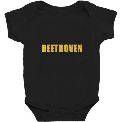 Beethoven, Inspiration Shirt, Beethoven Shirt, Beethoven T Shirt... Baby Bodysuit Designed By Word Power