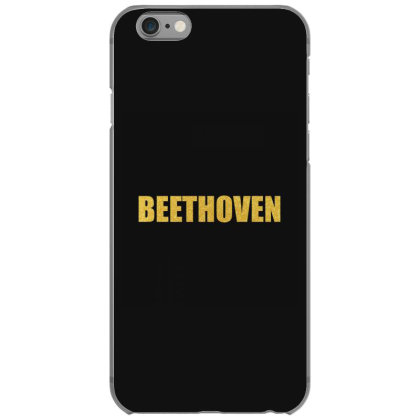 Beethoven, Inspiration Shirt, Beethoven Shirt, Beethoven T Shirt... Iphone 6/6s Case Designed By Word Power
