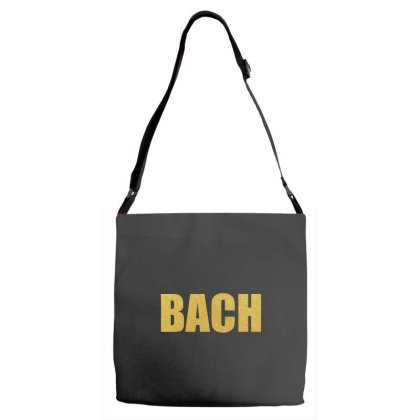 Bach, Inspiration Shirt, Bach Shirt, Johann Sebastian Bach... Adjustable Strap Totes Designed By Word Power